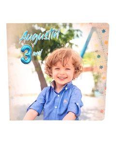 Album foto Aniversare, patrat, 20x20, 10 file