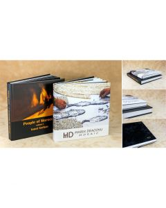 Album foto hardcover, patrat, 30x30, 20 file (50-60 poze)