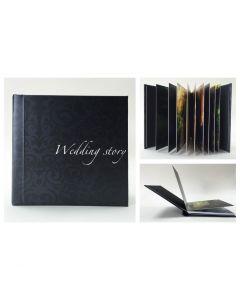 Album foto hardcover, patrat, 30x30, 15 file (40-50 poze)