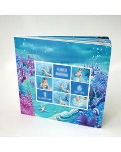 Album foto softcover, patrat, 30x30, 15 file (40-50 poze)