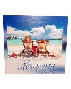 Album foto Honeymoon, patrat, 20x20, 10 file