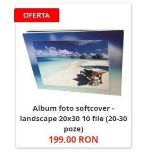Album foto softcover - landscape 20x30 10 file (20-30 poze)